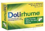 DOLIRHUME PARACETAMOL ET PSEUDOEPHEDRINE 500 mg/30 mg, comprimé à Lacanau