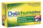 DOLIRHUMEPRO PARACETAMOL, PSEUDOEPHEDRINE ET DOXYLAMINE, comprimé à Lacanau