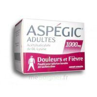 ASPEGIC ADULTES 1000 mg, poudre pour solution buvable en sachet-dose 20 à Lacanau