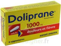 DOLIPRANE ADULTES 1000 mg, suppositoire à Lacanau