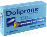 DOLIPRANE 150 mg Suppositoires 2Plq/5 (10) à Lacanau