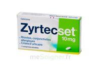 ZYRTECSET 10 mg, comprimé pelliculé sécable à Lacanau