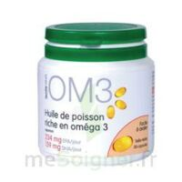 OM3 HUILE DE POISSON RICHE EN OMEGA 3, pilulier 120 à Lacanau