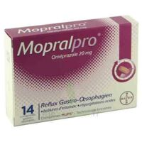 MOPRALPRO 20 mg Cpr gastro-rés Film/14 à Lacanau
