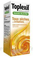 TOPLEXIL 0,33 mg/ml sans sucre solution buvable 150ml à Lacanau