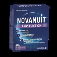Novanuit triple action à Lacanau