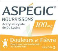 ASPEGIC NOURRISSONS 100 mg, poudre pour solution buvable en sachet-dose à Lacanau