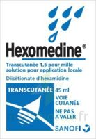 HEXOMEDINE TRANSCUTANEE 1,5 POUR MILLE, solution pour application locale à Lacanau