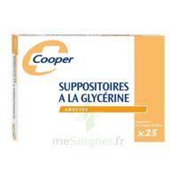 SUPPOSITOIRES A LA GLYCERINE COOPER Suppos en récipient multidose adulte Sach/25 à Lacanau