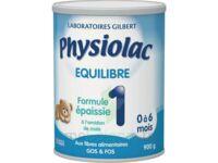 Equilibre Formule épaissie 1 - lait infantile 2ème âge  - 900g à Lacanau