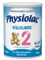PHYSIOLAC EQUILIBRE 2 Lait pdre B/900g à Lacanau