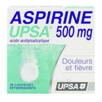 ASPIRINE UPSA 500 mg, comprimé effervescent à Lacanau