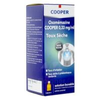 OXOMEMAZINE H3 SANTE 0,33 mg/ml SANS SUCRE, solution buvable édulcorée à l'acésulfame potassique à Lacanau