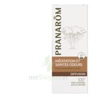 PRANAROM DIFFUSION Huile essentielle pour diffuseur MEDITATION ET SAINTES ODEURS à Lacanau