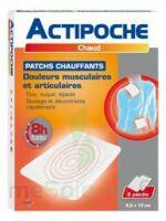 Actipoche Patch chauffant douleurs musculaires B/2 à Lacanau