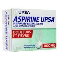ASPIRINE UPSA TAMPONNEE EFFERVESCENTE 1000 mg, comprimé effervescent à Lacanau