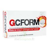GCFORM, comprimé effervescent à Lacanau