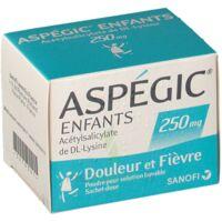 ASPEGIC ENFANTS 250, poudre pour solution buvable en sachet-dose à Lacanau