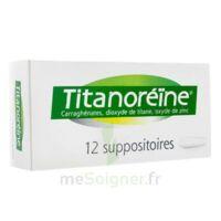 TITANOREINE Suppositoires B/12 à Lacanau