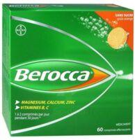 Berocca Comprimés effervescents sans sucre T/60 à Lacanau