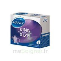 Manix King Size Préservatif avec réservoir lubrifié confort B/3 à Lacanau