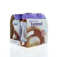 FORTIMEL EXTRA Nutriment chocolat 4Bouteilles/200ml à Lacanau
